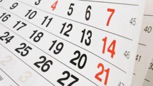 calendari i horari