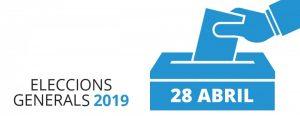 eleccions corts generals 2019