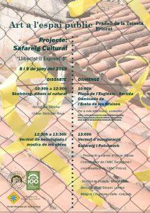 Art a l'espai públic projecte safareig 8 i 9 juny