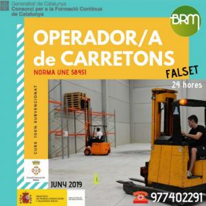 curs operador carretons consell comarcal