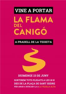 cartell flama canigo 2019