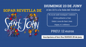 cartell sopar de sant joan 2019 horitzontal