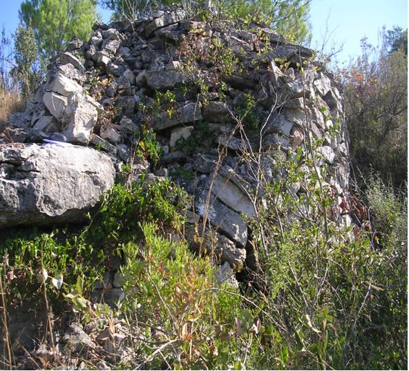 Caseta de pedra seca Barrejat