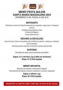 Menú festa major magdalena 2019 bo