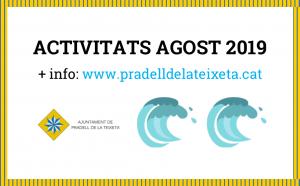 banner activitats agost 2019