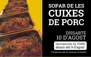 banner sopar cuixes de porc 2019