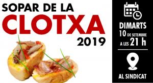 banner sopar clotxa 2019