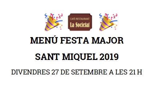 menu festa major sant miquel BANNER