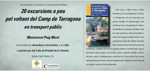 presentació llibre excursions Montserrat Puig