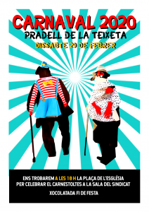 cartell carnaval 2020