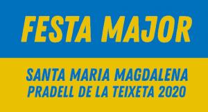 Banner Festa Major Santa Maria Magdalena 2020