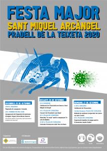 Cartell DIN A3 festa major Sant Miquel Arcàngel 2020 2