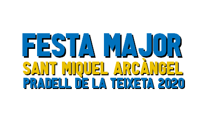 festa major sant miquel 2020 banner